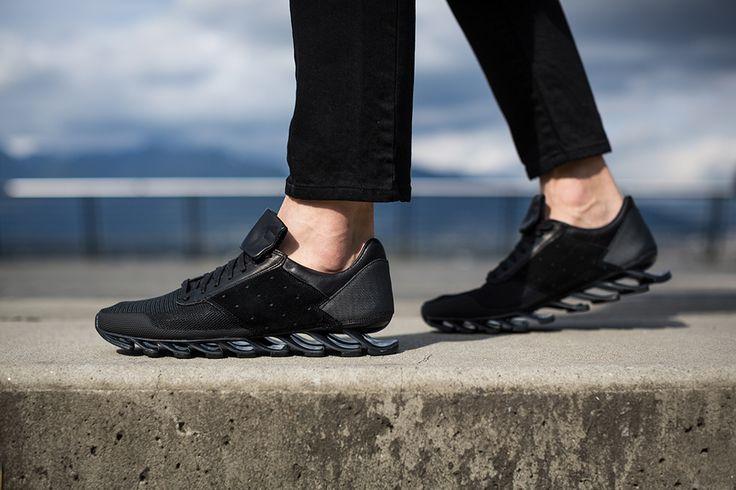 new style edc59 798e2 Rick Owens x adidas Springblade: Black | Parth | Sneakers ...