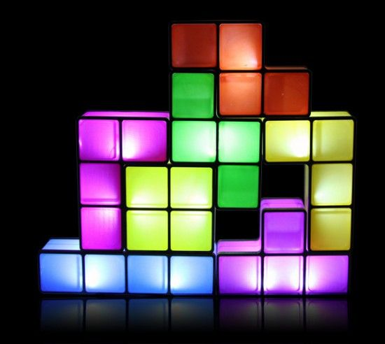 Stackable Tetris Desk Lamp Funky Lamps Desk Lamp Lamp Light