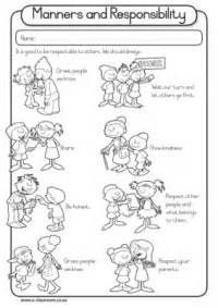 Responsibility Worksheet First Graders Yahoo Image Search