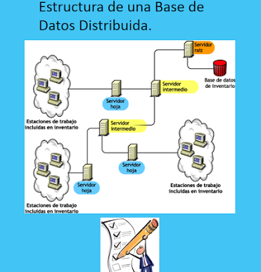 Estructura De Una Base De Datos Distribuida Base De Datos Base Datos