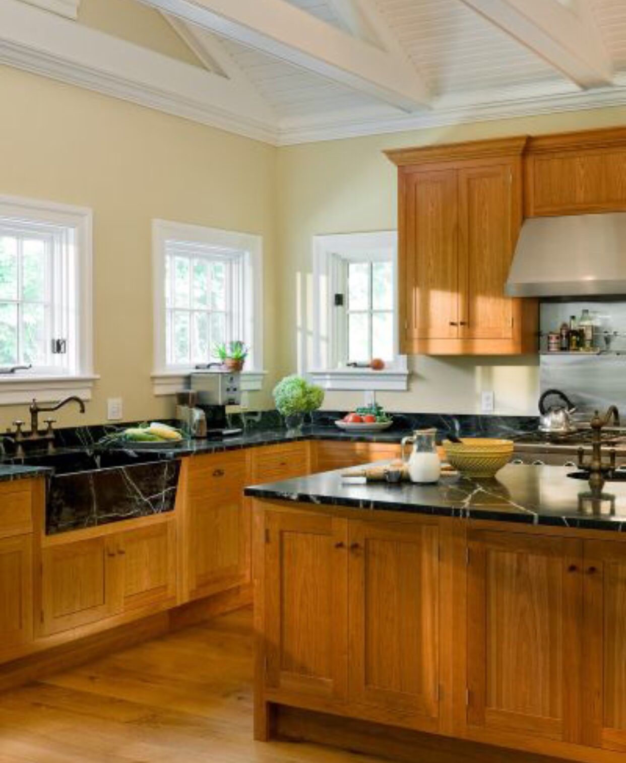 Yellow kitchen walls by Catherine Cranwell on Remodeling ...