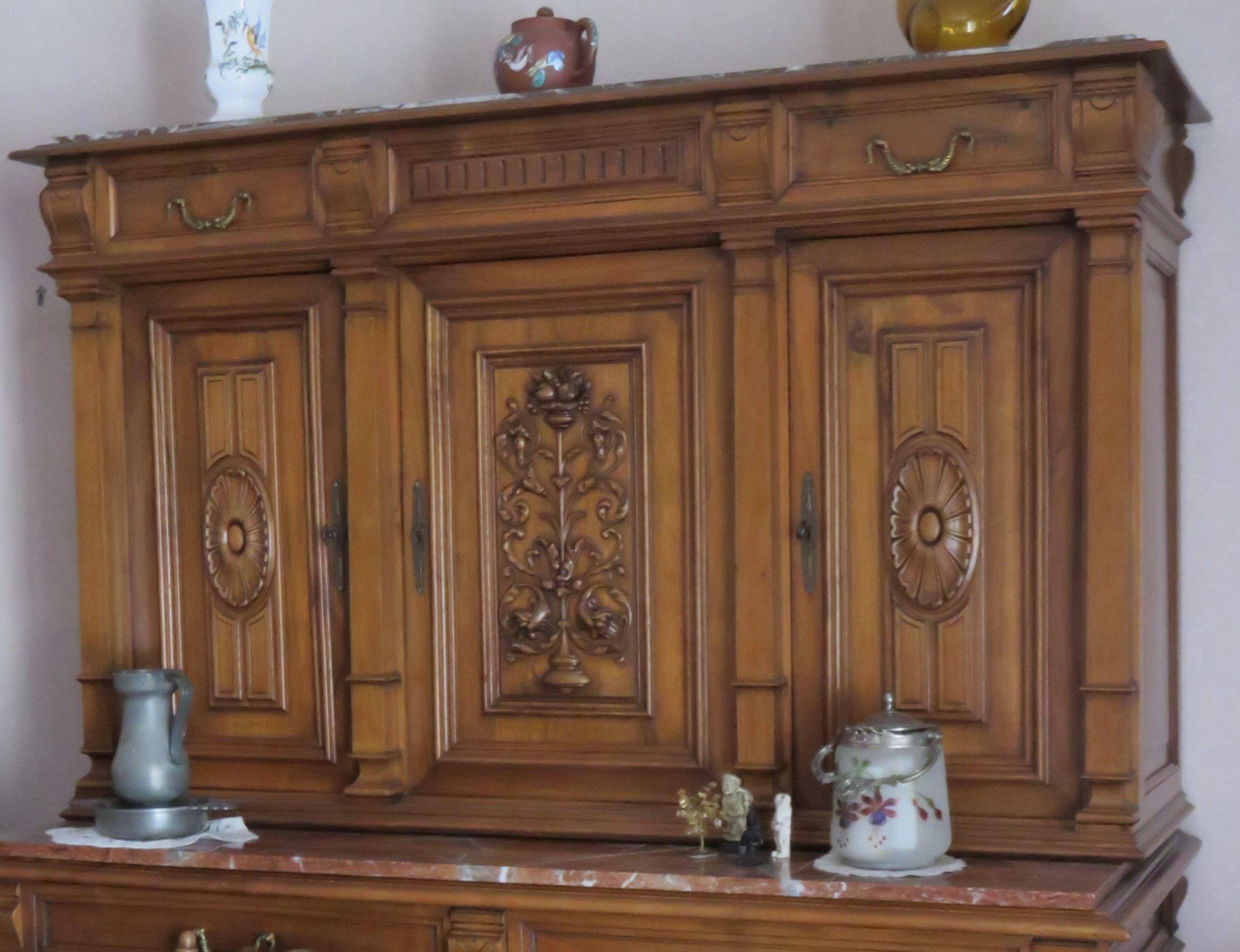 meuble ancien henri iii avant dcapage et badigeon