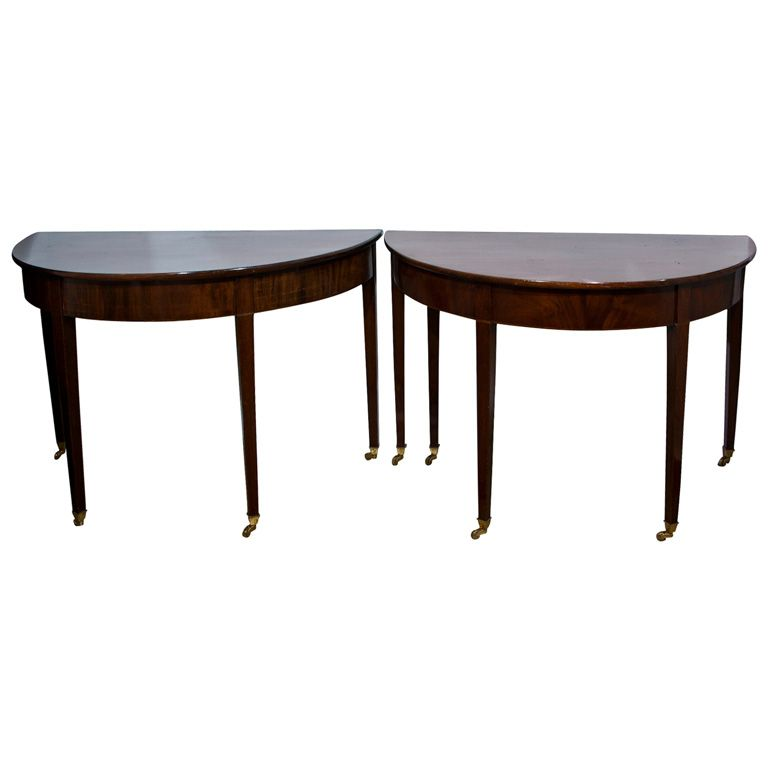 1stdibs - American Mahogany Federal 3-part Dining Table explore items from 1,700  global dealers at 1stdibs.com