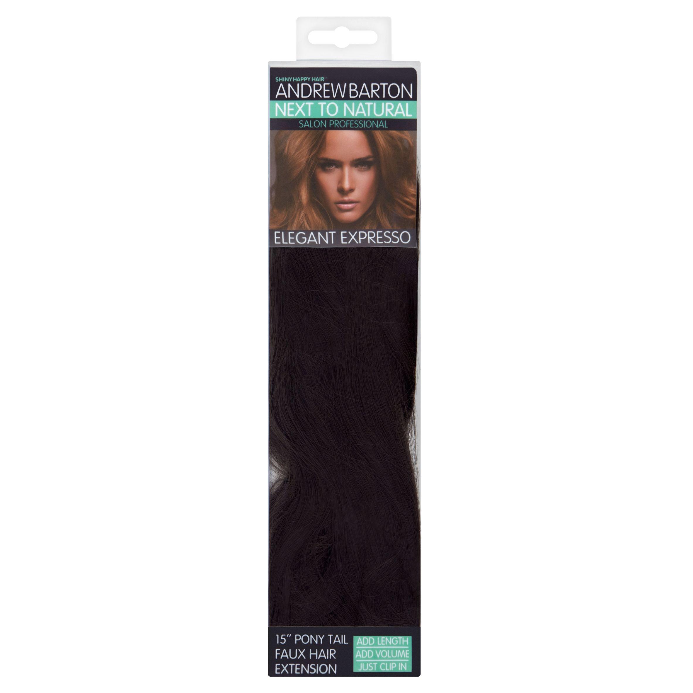 Andrew Barton Elegant Espresso Ponytail And Wrap Hair Extension