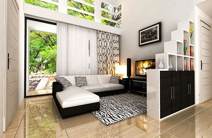 Ruang Tamu Sederhana Minimalis Langkah Hemat Biaya Dekorasi