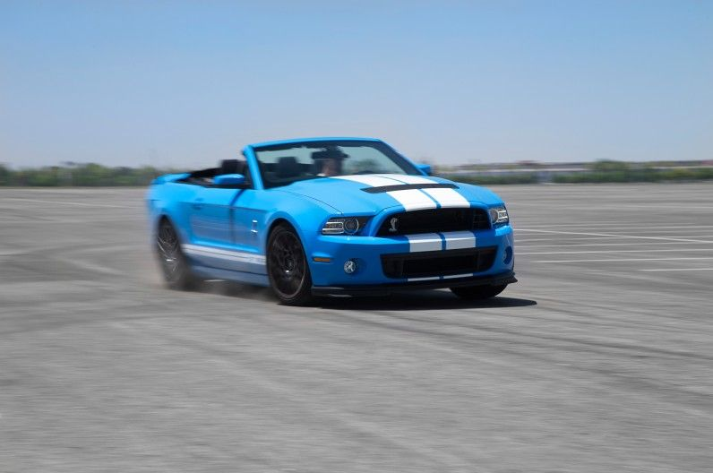 Our Cars 2013 Ford Shelby Gt500 Convertible Loud Noises
