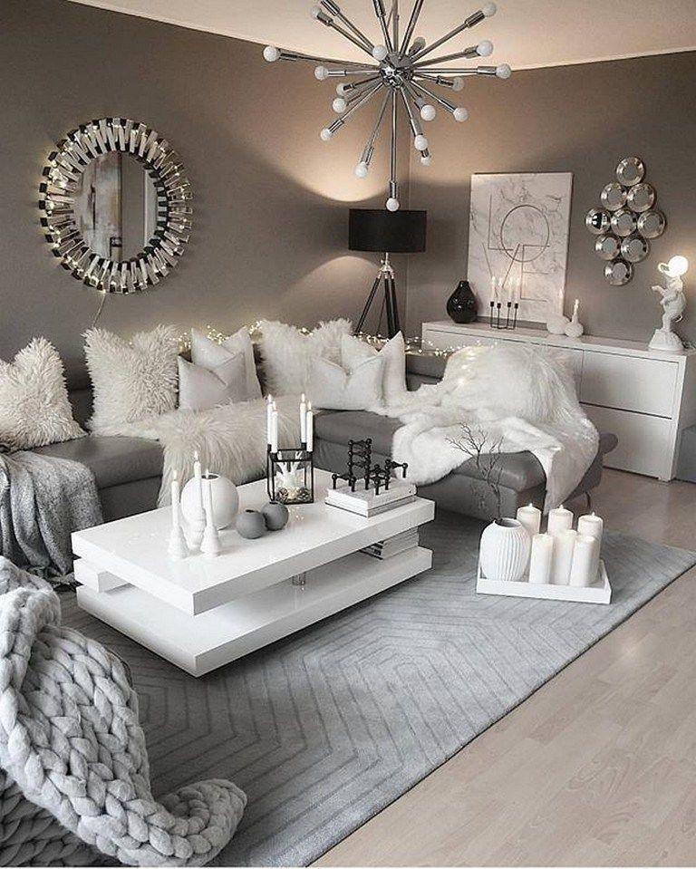 Inspiring Sitting Room Decor Ideas For Inviting And Cozy: 85 Inspiring Apartment Living Room Decorating Ideas 43