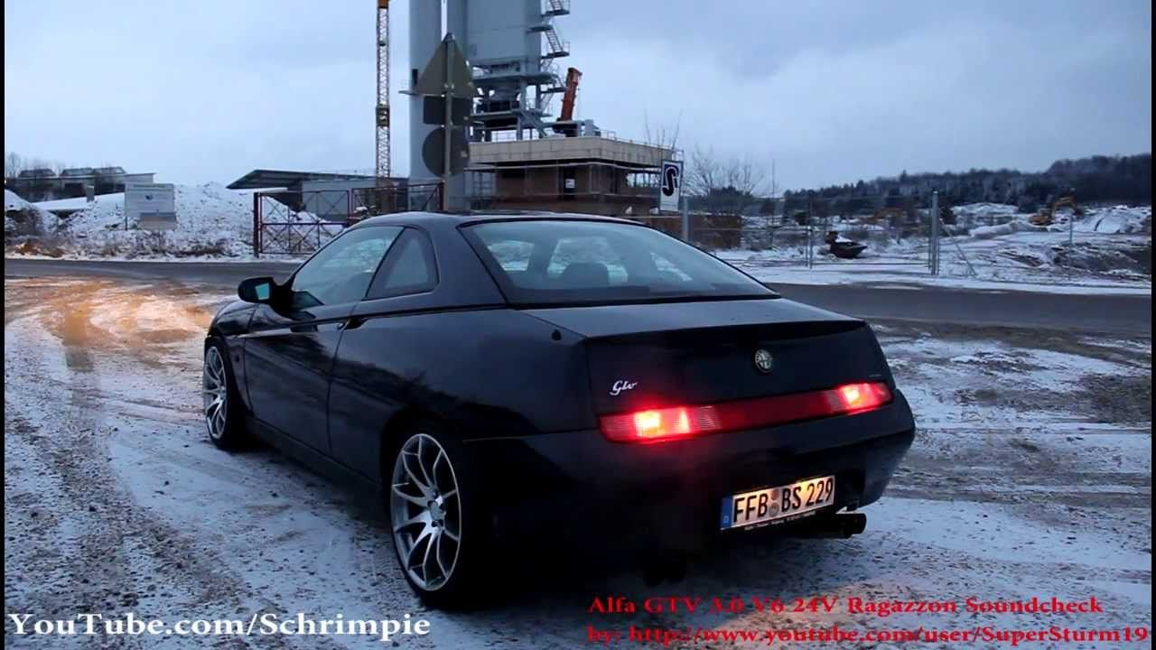 Alfa Romeo Gtv V6 Best Exhaust Sounds Coupe De Garage Pinterest