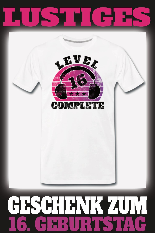 16 Geburtstag 16 Jahre Endlich Sechzehn Teenager Manner Premium T Shirt Geschenk Ideal 30 Geburtstag Mann Spruche Zum 16 Geburtstag Spruch 30 Geburtstag