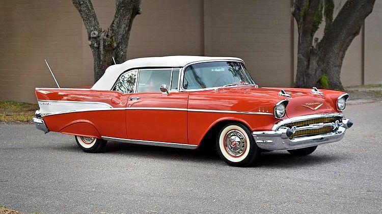 1957 Chevy Bel Air Convertible Matador Red Beauty Classic Trucks Classic Cars Chevy 1957 Chevy Bel Air