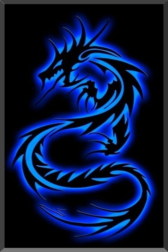 Tribal Dragon Abstract Background For Your Iphone Download Free Wallpaper Iphone Neon Dragon Wallpaper Iphone Blue Wallpaper Iphone