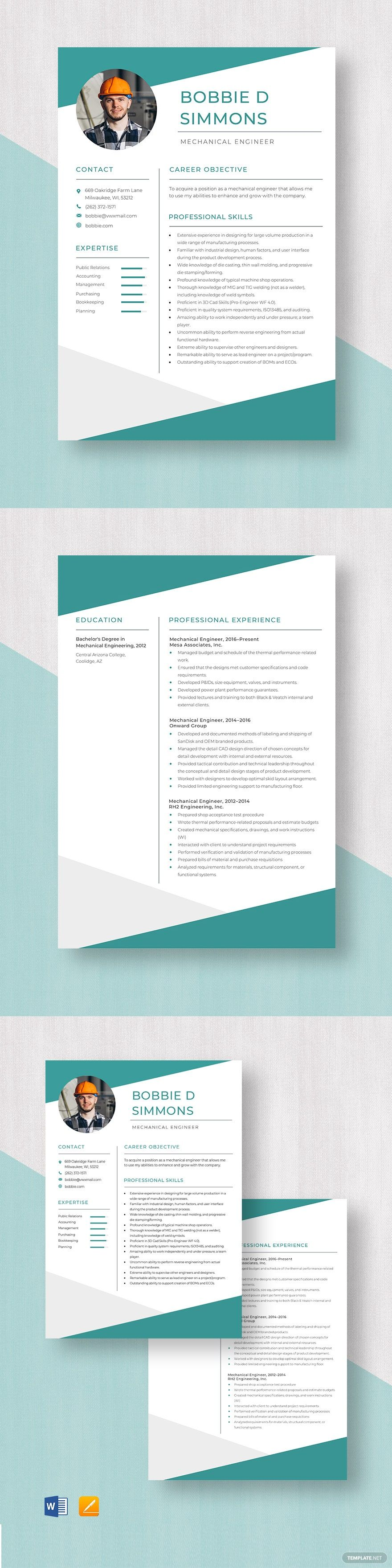 Doc engineer job mechanical opto resume
