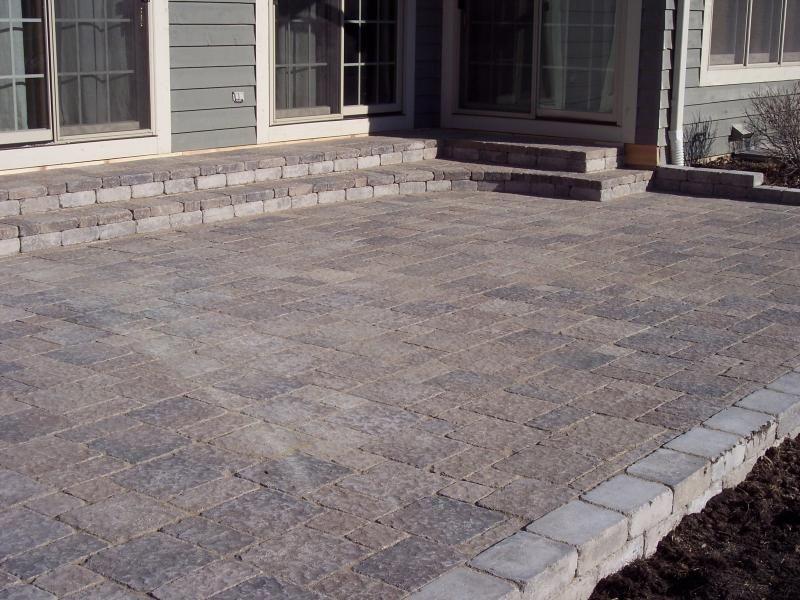 Easy Ways To Build A Stone Block Patio | Garden Guides