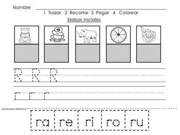 silabas directas 2 spanish resources for k 1. Black Bedroom Furniture Sets. Home Design Ideas