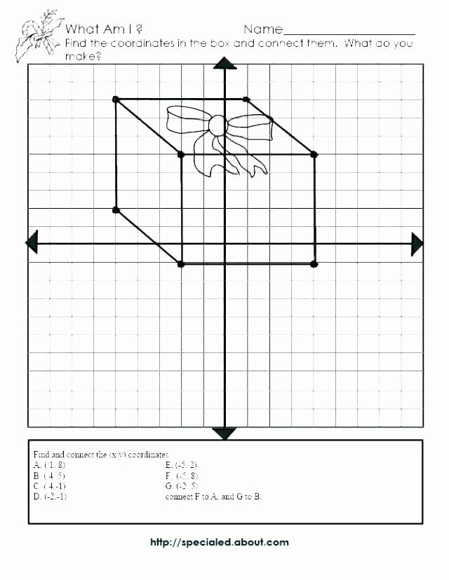 Coordinate Grid Worksheets 6th Grade Coordinate Grid ...