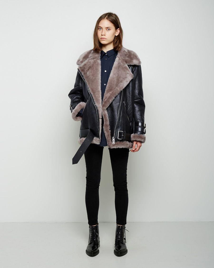 6557e5df63213 Acne Studios Velocite Shearling Jacket