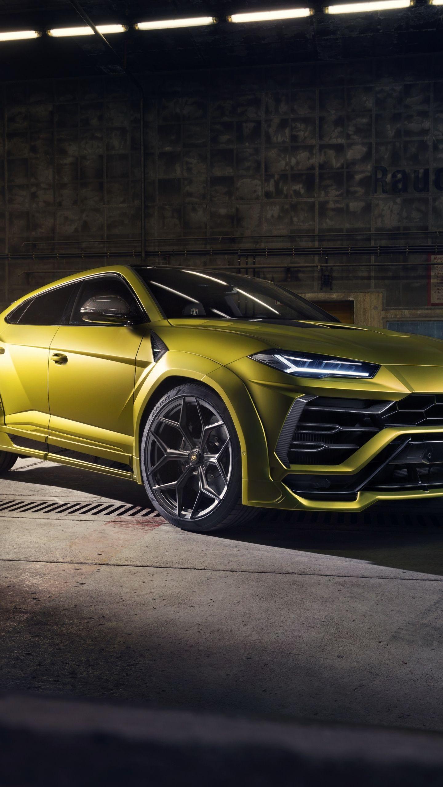 1440x2560 Car Basement Lamborghini Urus Front View 2019