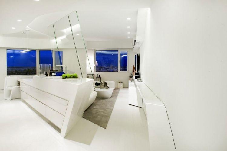 Déco salon blanc pour une atmosphère accueillante \u2013 80 idées