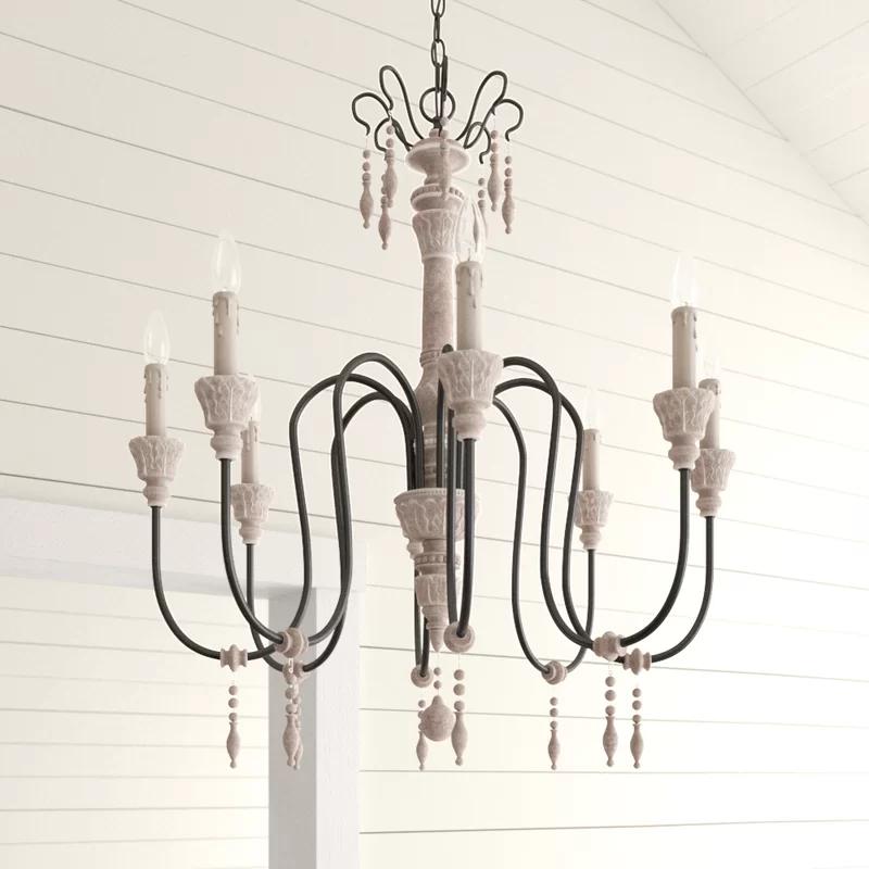 Tisbury 8 Light Candle Style Chandelier