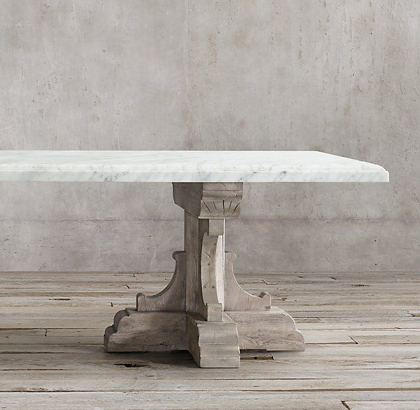 17th C French Bastide Oak Marble Rectangular Dining Table Dining Room Table Marble Dining Table Marble Dining Table