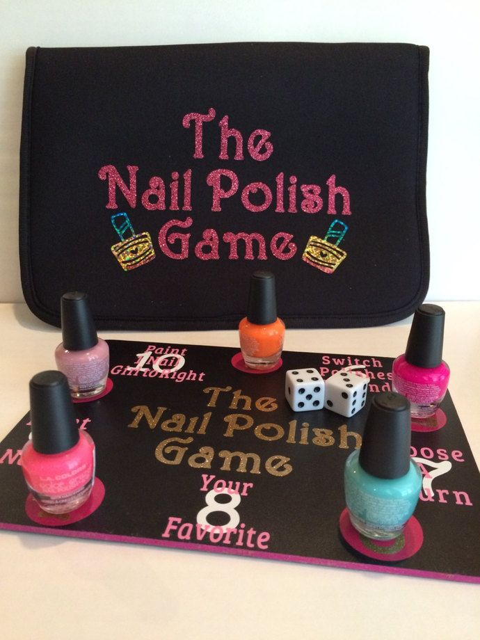 Spa Party, The Nail Polish Board Game, Girls Party Game, Beauty ...