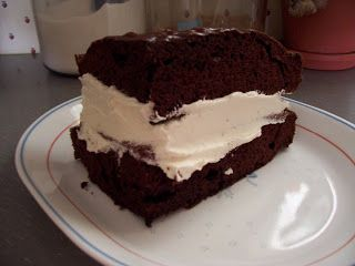 At A Family Gathering Chuck Aunt Brought Homemade Suzy Q It Was So Delicious That I Asked For The Recipe Bake Chocolate Cake In