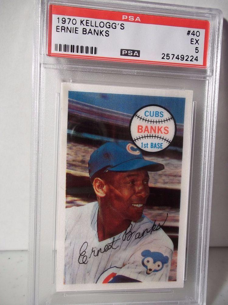 Park Art|My WordPress Blog_Ernie Banks Baseball Card For Sale