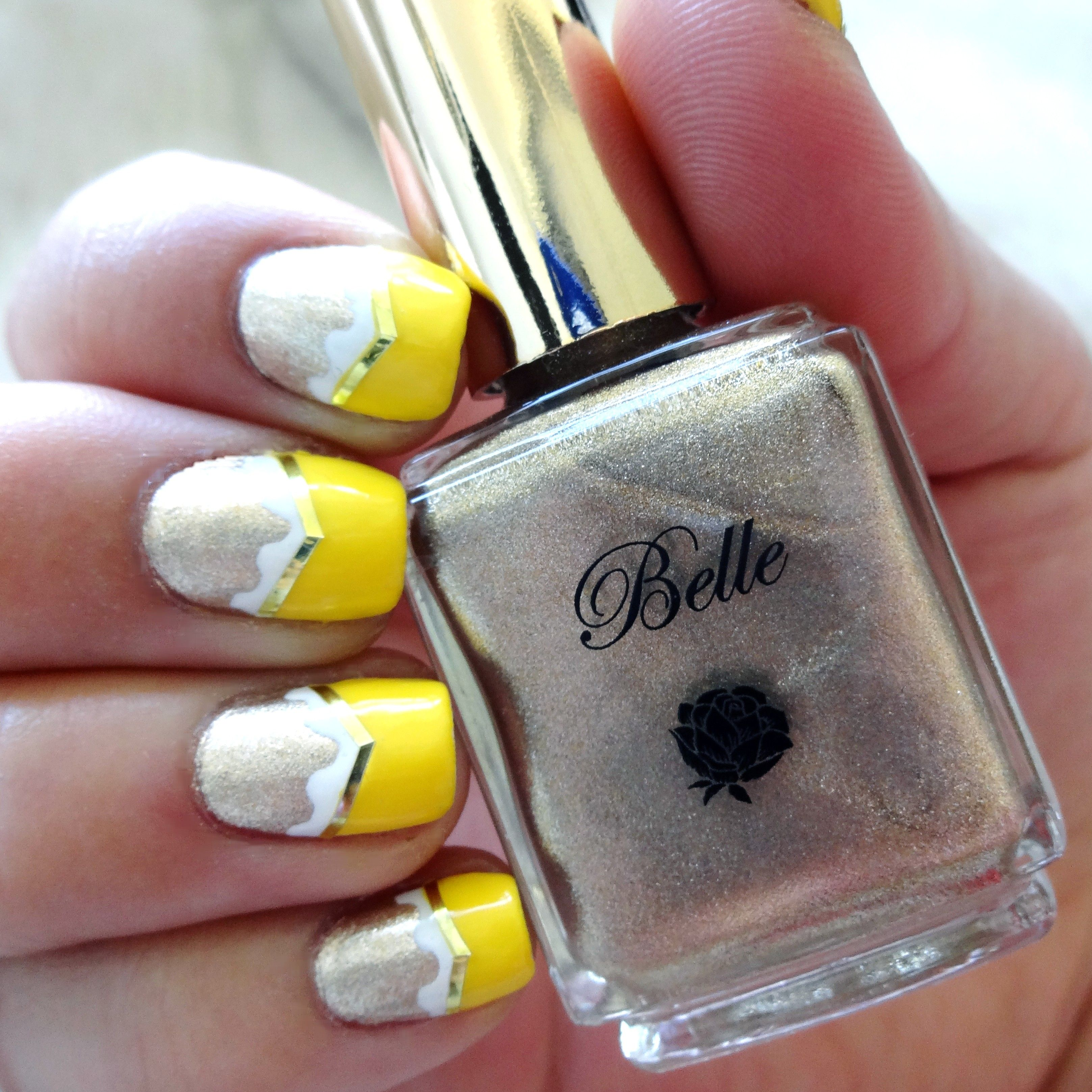 Beauty and the Beast  Nail polish sets Beauty and the beast and