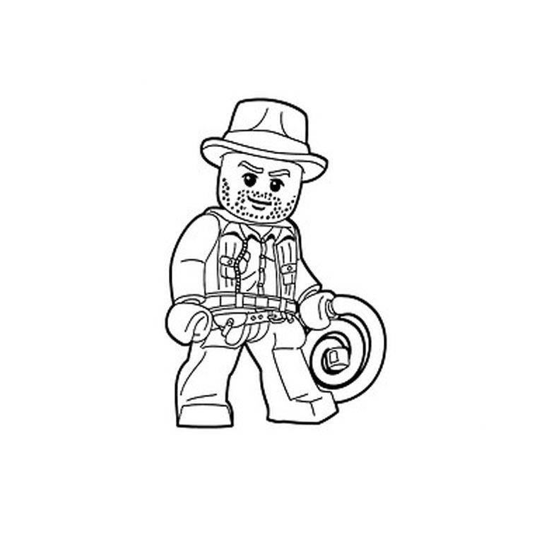 surfboard coloring  indiana jones lego coloring pages