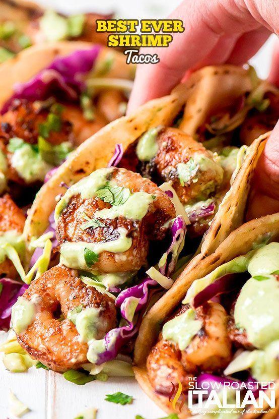Best Ever Shrimp Tacos #tacotuesdayrecipes