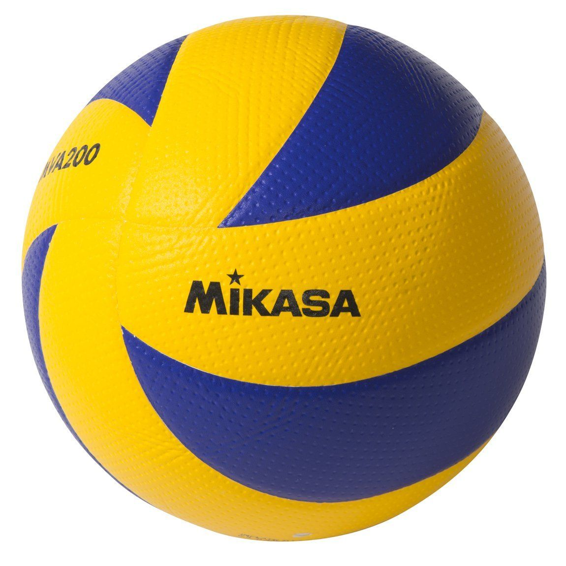 Mikasa Mva200 2008 Beijing 2012 London And 2016 Rio Indoor Olympic Games Ball Blue Yellow Mikasa Volleyball Volleyballs