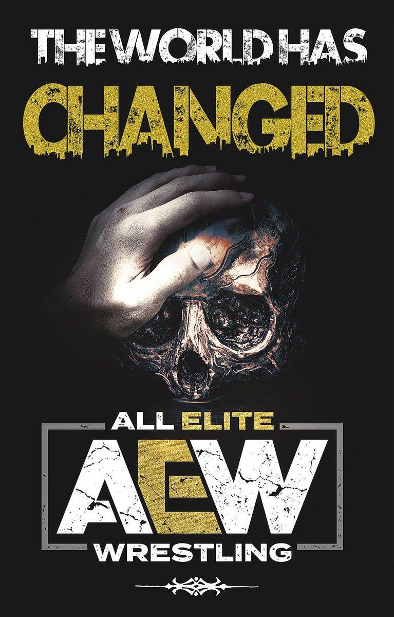 Aew Wallpaper For Phones Professional Wrestling Wrestling Posters Wrestling Superstars