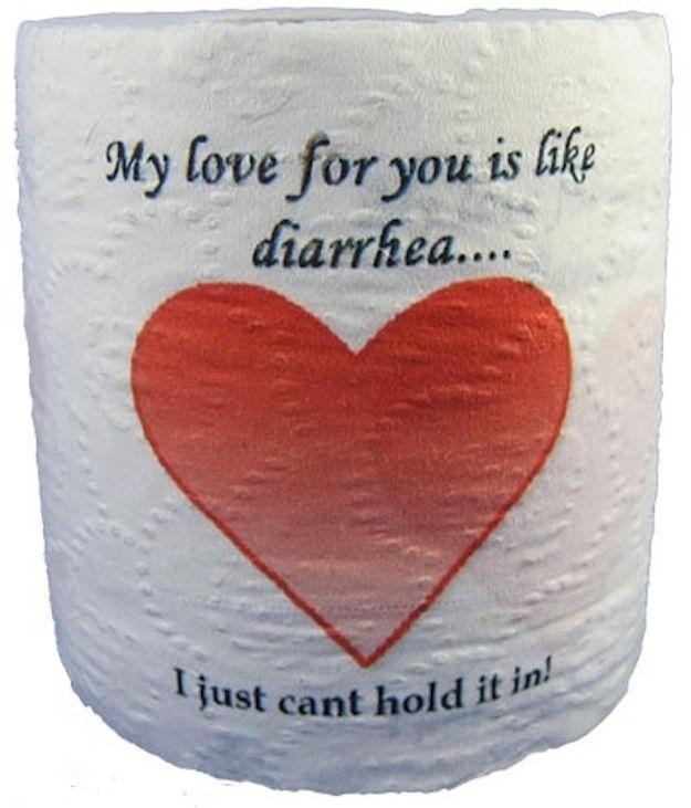 Elegant Novelty Toilet Paper. Funny SayingsFunny Valentine ...