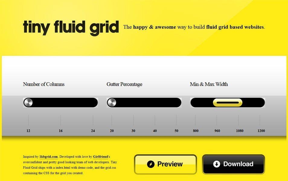 100 Best Grid Systems Tools For Responsive Design S Izobrazheniyami