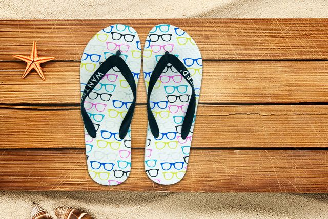 6 Instead Of 15 For A Pair Of Trendy Summer Flip Flops From Wowcher Shop Choose From 3 Designs Save 60 Del Nerd Glasses Summer Flip Flops Panther Print