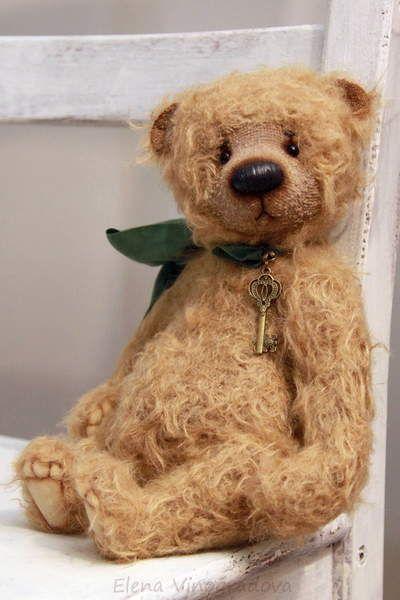 Edwin By Elena Vinogradova - Bear Pile | テディベア_Teddy Bears ...