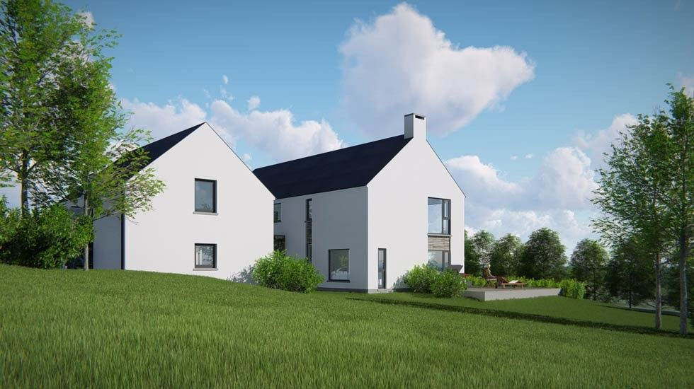 The Design Reflects Traditional Characteristics Of Rural Farmhouse But Detailing Is Executed In A Contemporary Manner