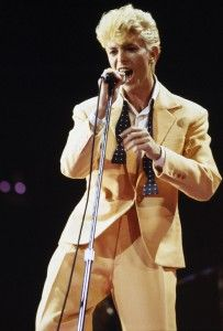 Yellow Suit With Images David Bowie Modern Love