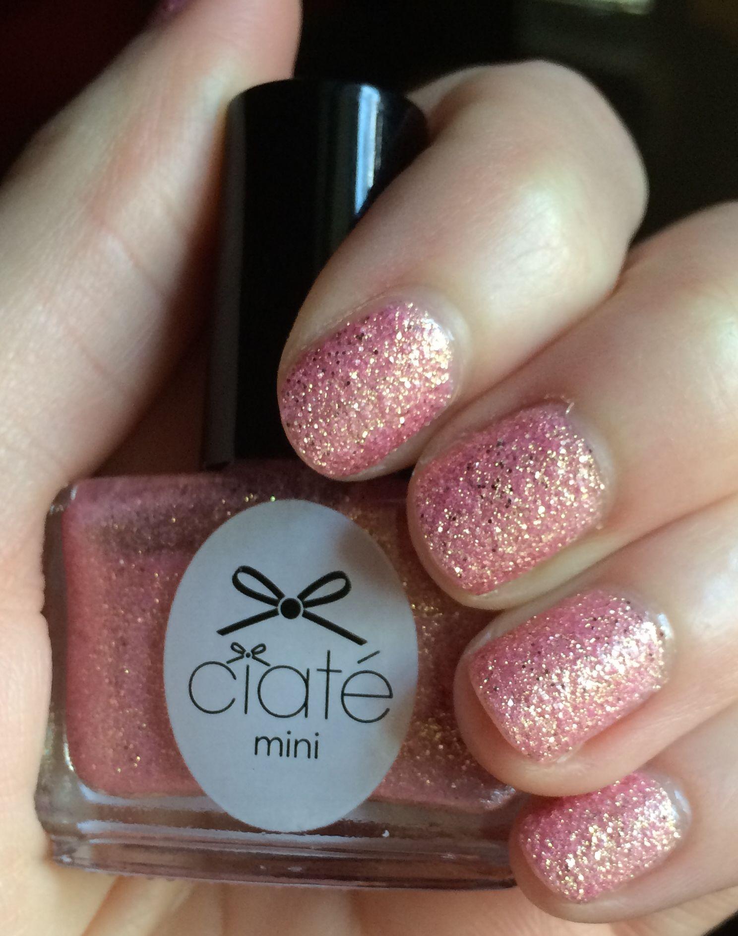 Ciate Mini Paint Pot In Mineral Love Textured Polish Painted Pots Minerals Nail