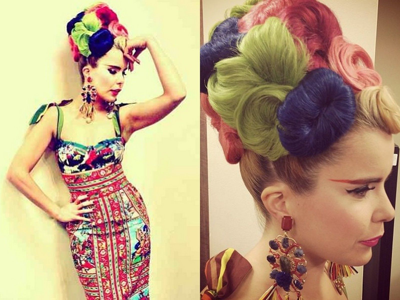 Paloma Faith Hair Idol