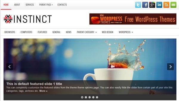 60 Free Premium WordPress Themes Of All Time | Work - WordPress ...