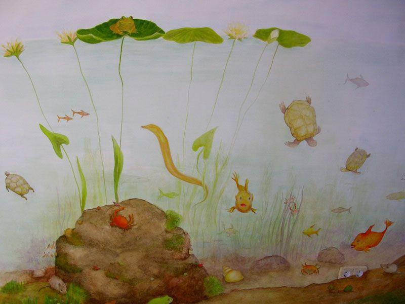 Nice Wandbilder und Wandmalerei im Kinderzimmer Wandgestaltung Berlin