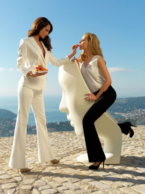 That white suit is awesome.