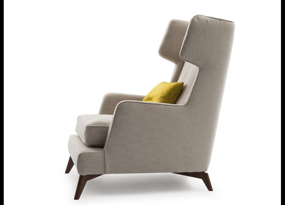 Vibieffe Class High Back Armchair   Contemporary Furniture   Modern  Furniture