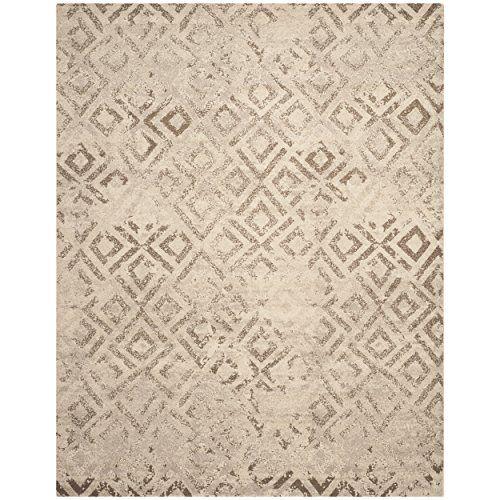 Safavieh Tunisia Collection TUN1911 KMK Ivory Area Rug 8 Feet By 10