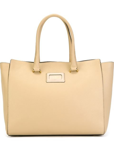 HOGAN Front Logo Tote. #hogan #bags #leather #hand bags #tote