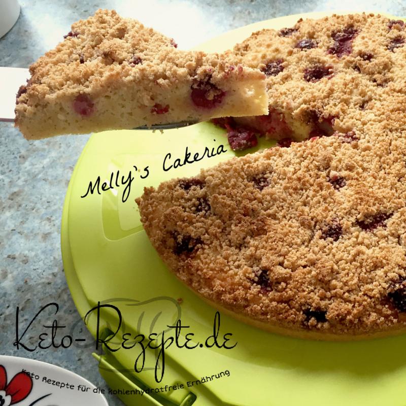 Jetzt wirds krümmelig! LowCarb Streuselkuchen wie von Oma - ganz simple Rezeptur und kein Unterschied zur HighCarb-Variante. Das Beste auf Keto-Rezepte.de!