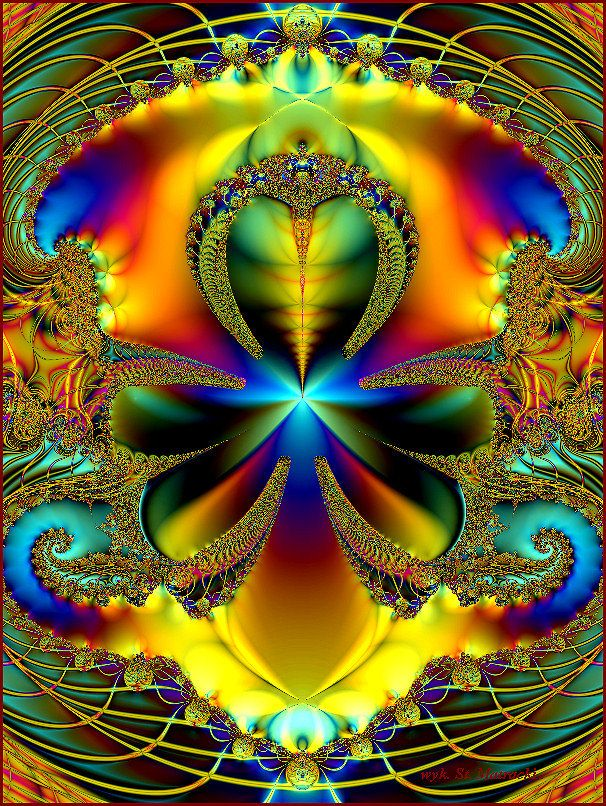 Abstraction with F.E._10. by matstan2610 Fractal Fractal