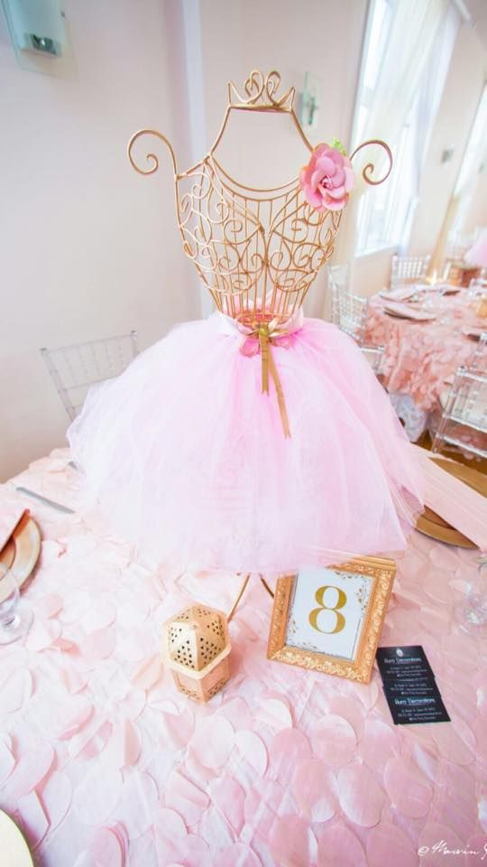 Sweet Pink And Blush Baby Shower Tutu Baby Shower Ideas Baby