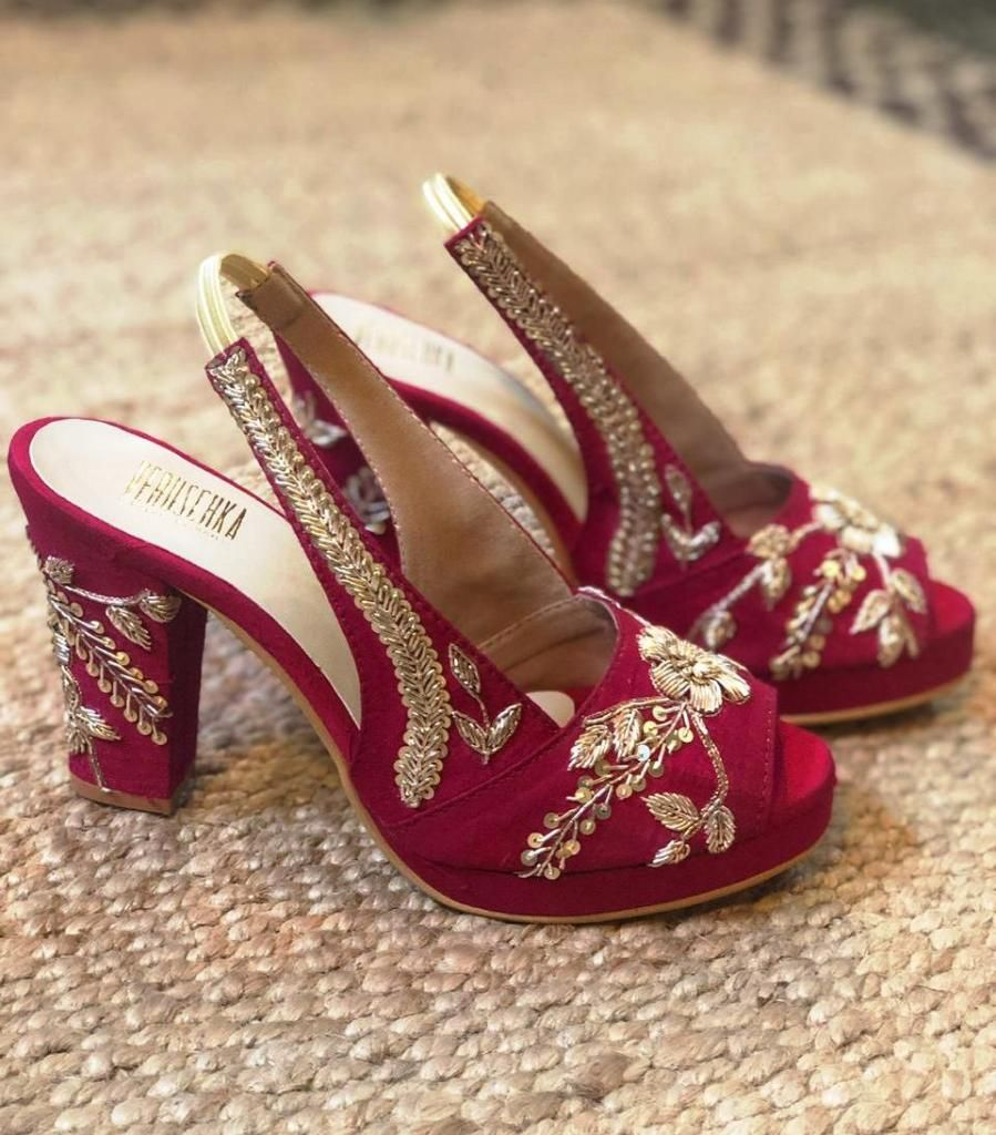 Where To Shop Wedding Shoes In India?
